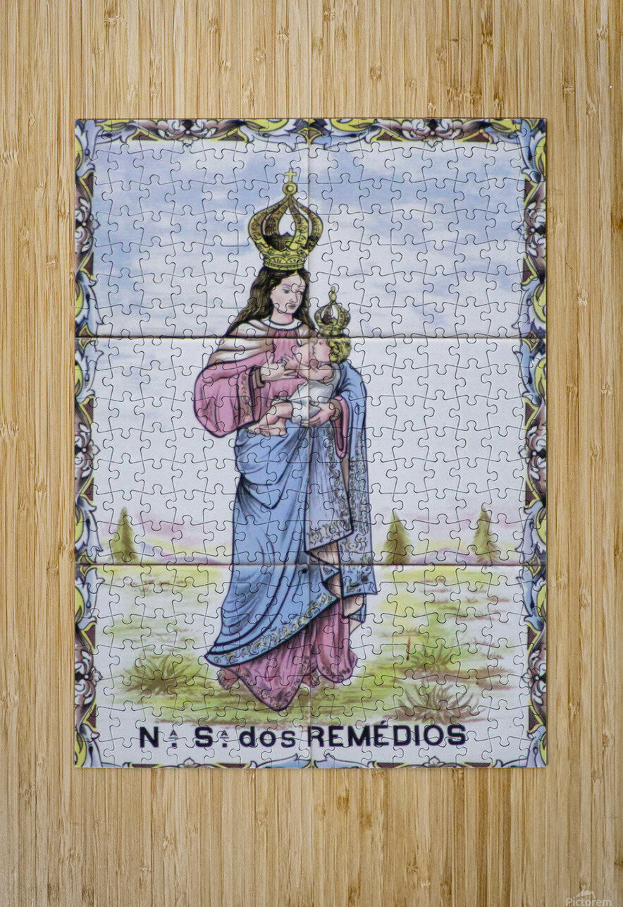Los Remedios  HD Metal print with Floating Frame on Back
