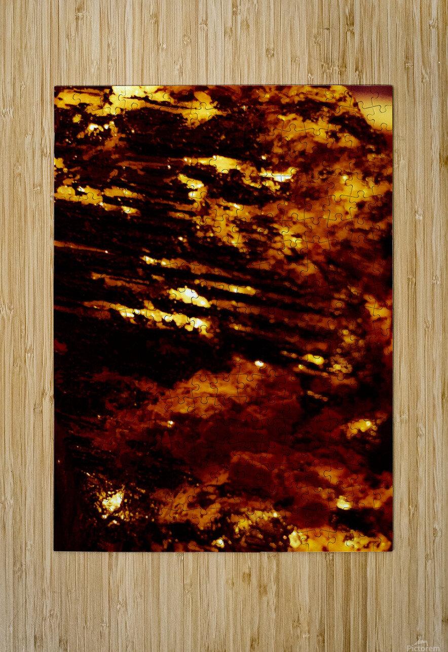 Mighty love   Impression métal HD avec cadre flottant sur le dos