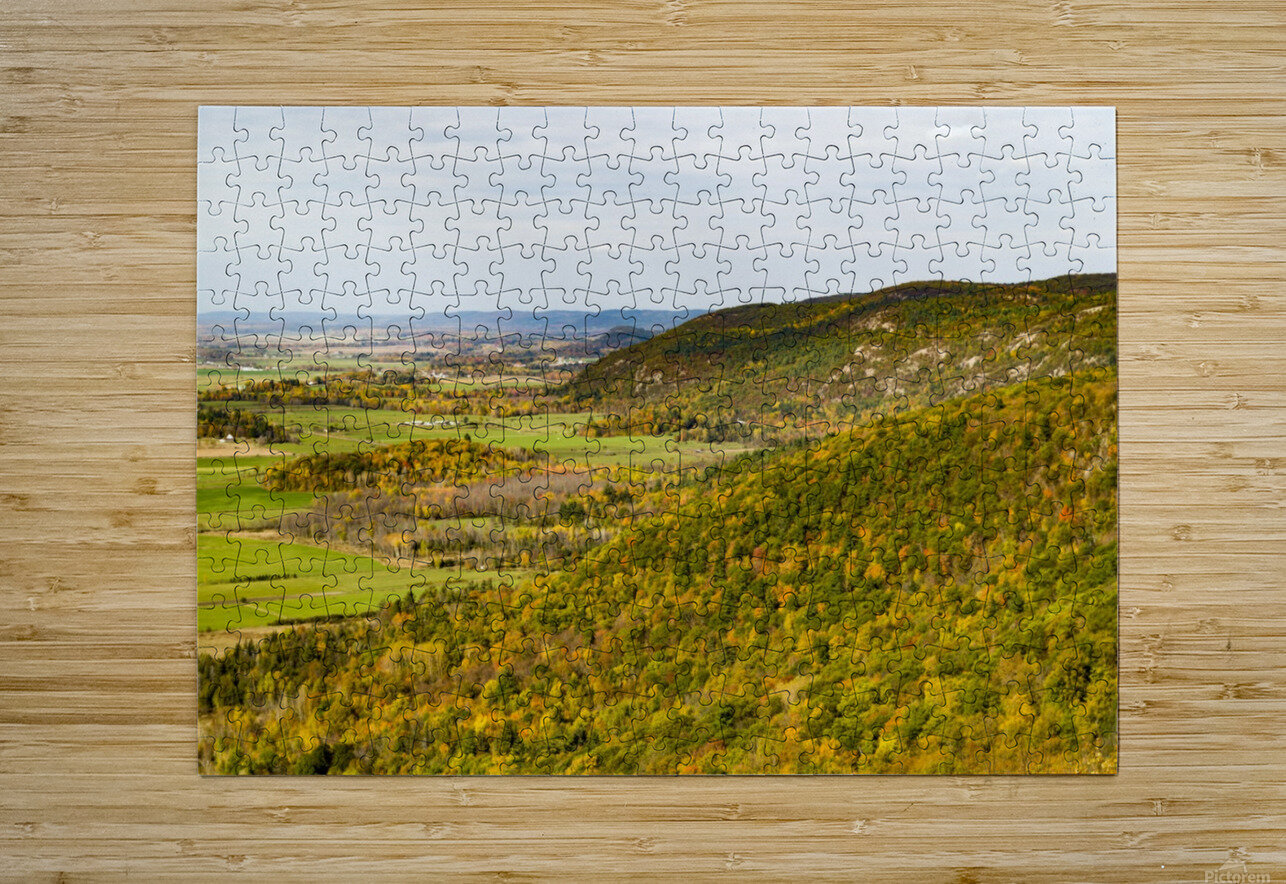 View of Ottawa Valley in Autumn 20  HD Metal print with Floating Frame on Back