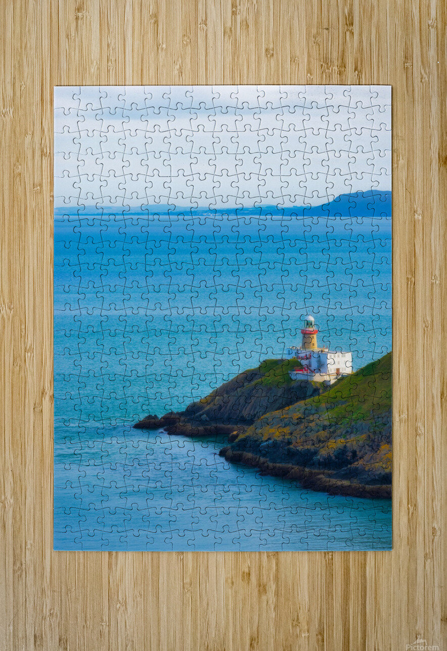 HOWTH 03  HD Metal print with Floating Frame on Back