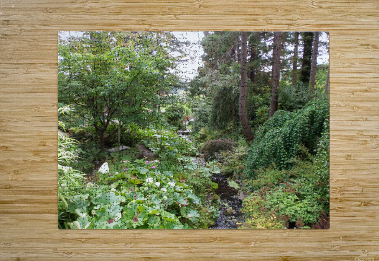 Glendale Gardens Victoria BC  HD Metal print with Floating Frame on Back