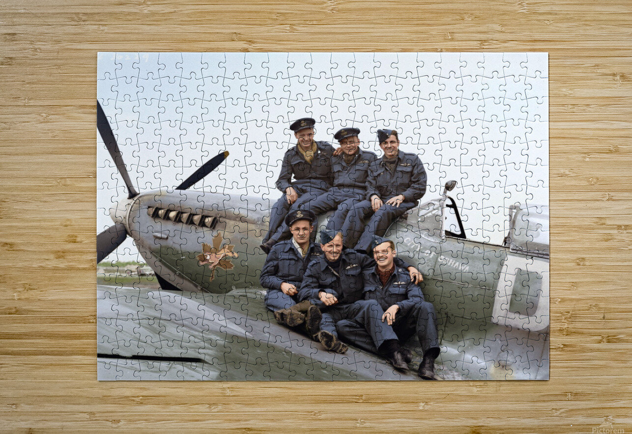 416 Squadron RCAF  HD Metal print with Floating Frame on Back