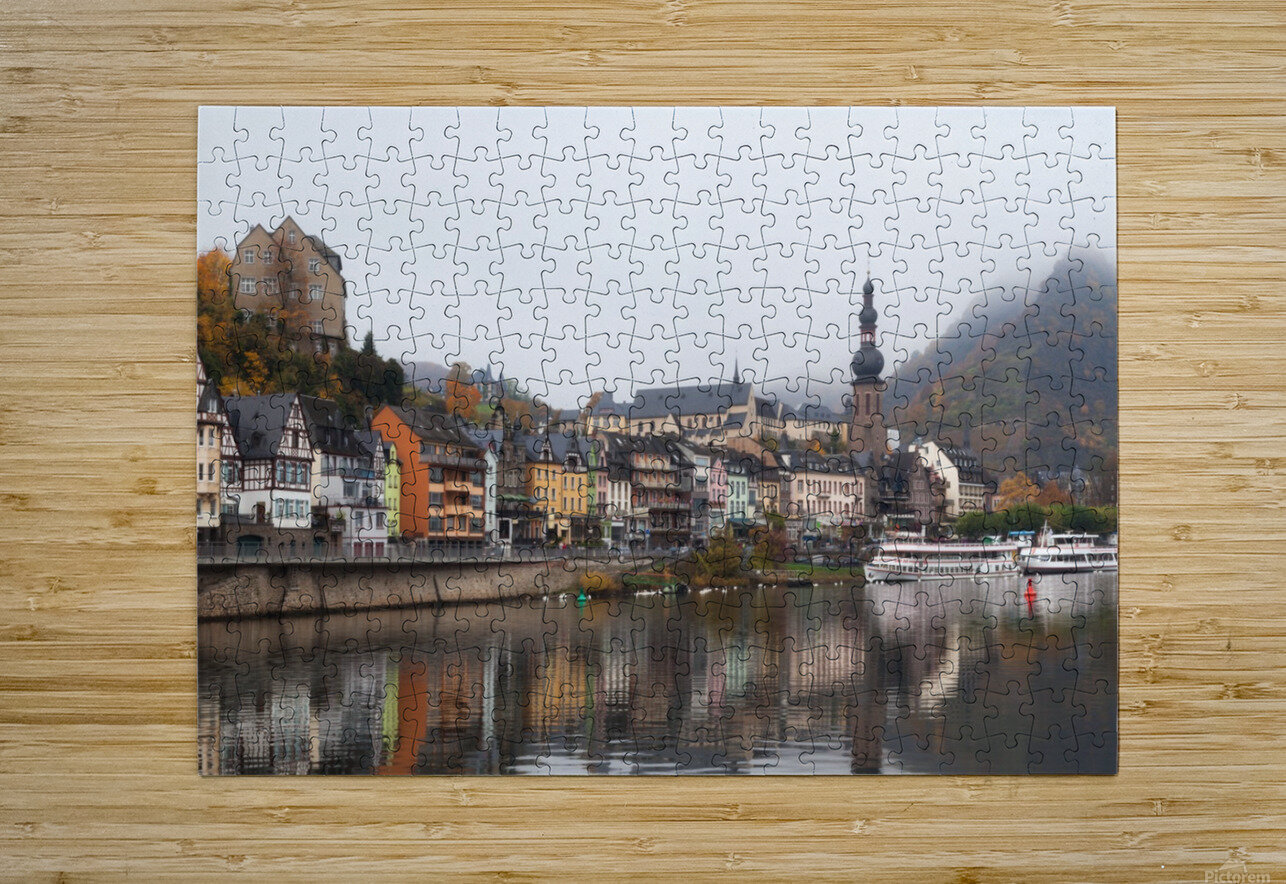 COCHEM 01  HD Metal print with Floating Frame on Back