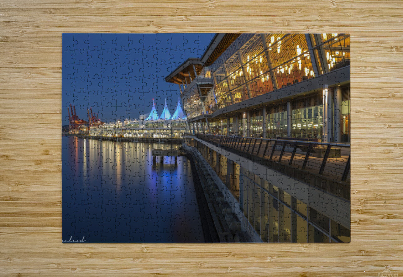Vancouver Convention Ctr_DSC3889  HD Metal print with Floating Frame on Back