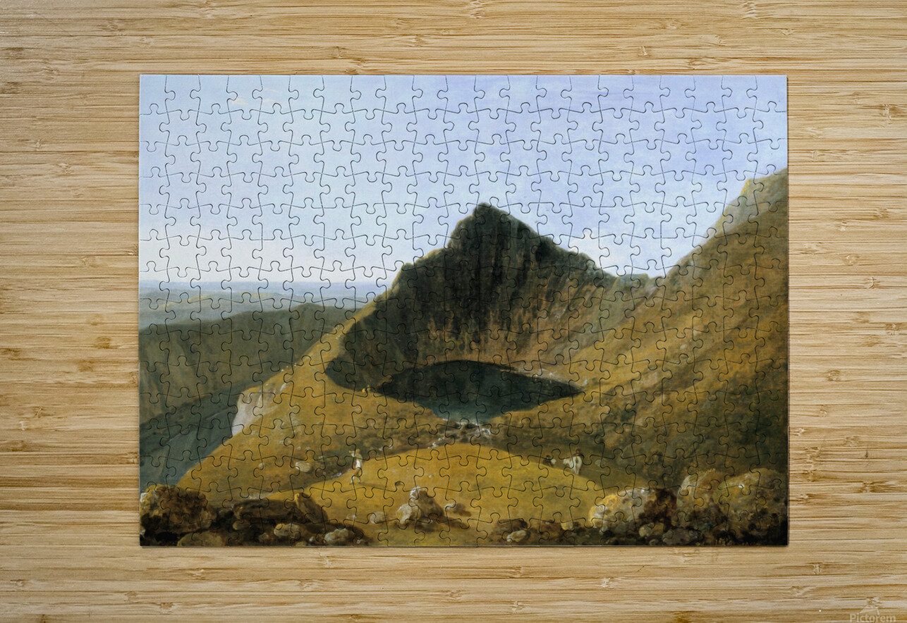 Cader Idris  HD Metal print with Floating Frame on Back
