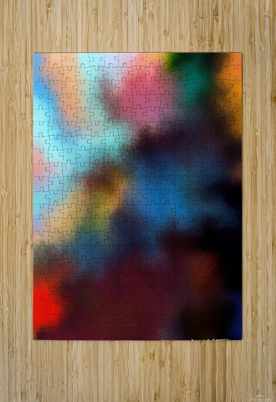 Color Burst - Breathe  HD Metal print with Floating Frame on Back