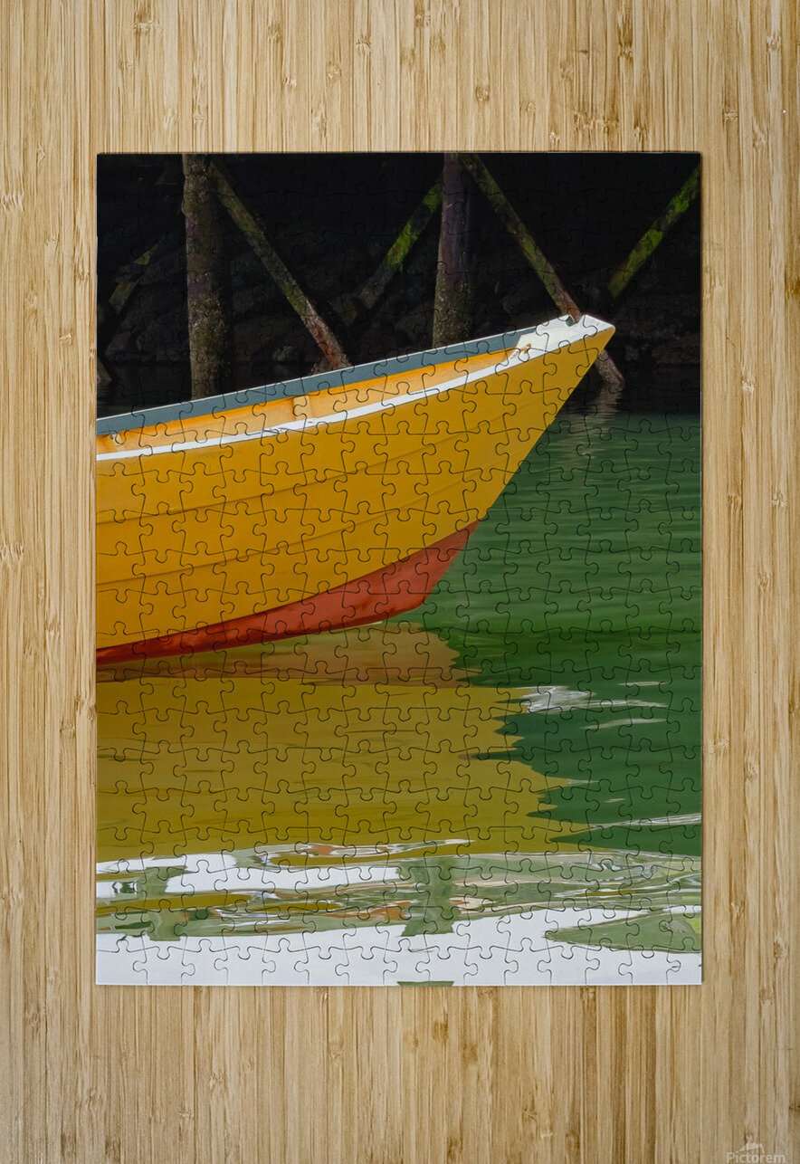 Reflect  HD Metal print with Floating Frame on Back