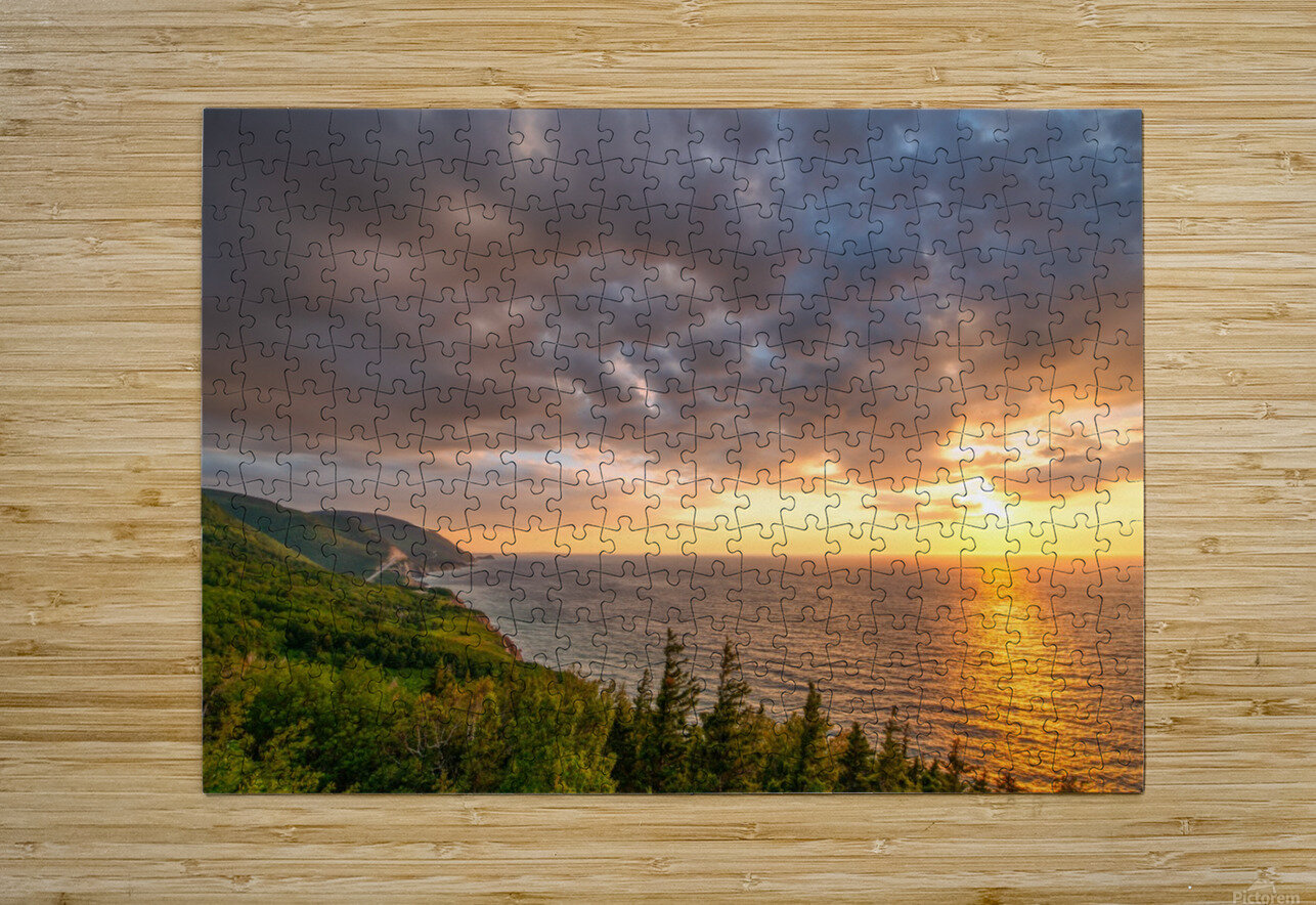 The Endless Sun  HD Metal print with Floating Frame on Back