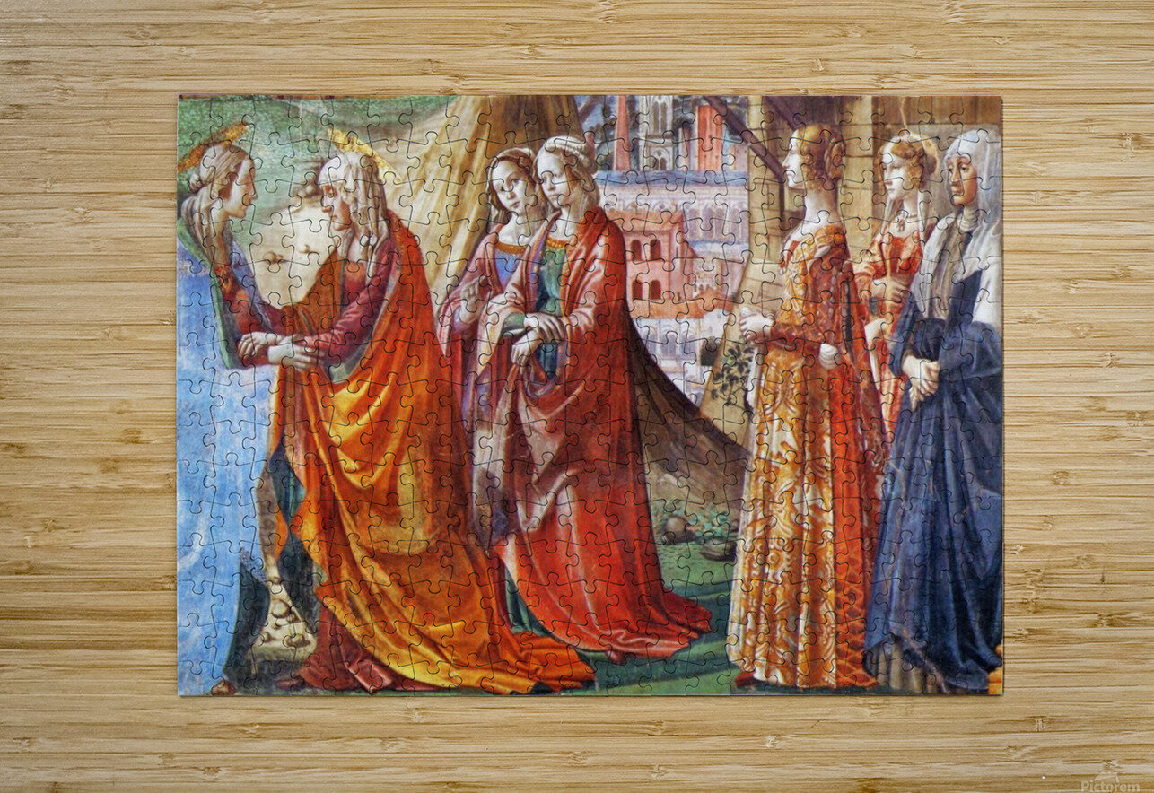 The Visitation  HD Metal print with Floating Frame on Back