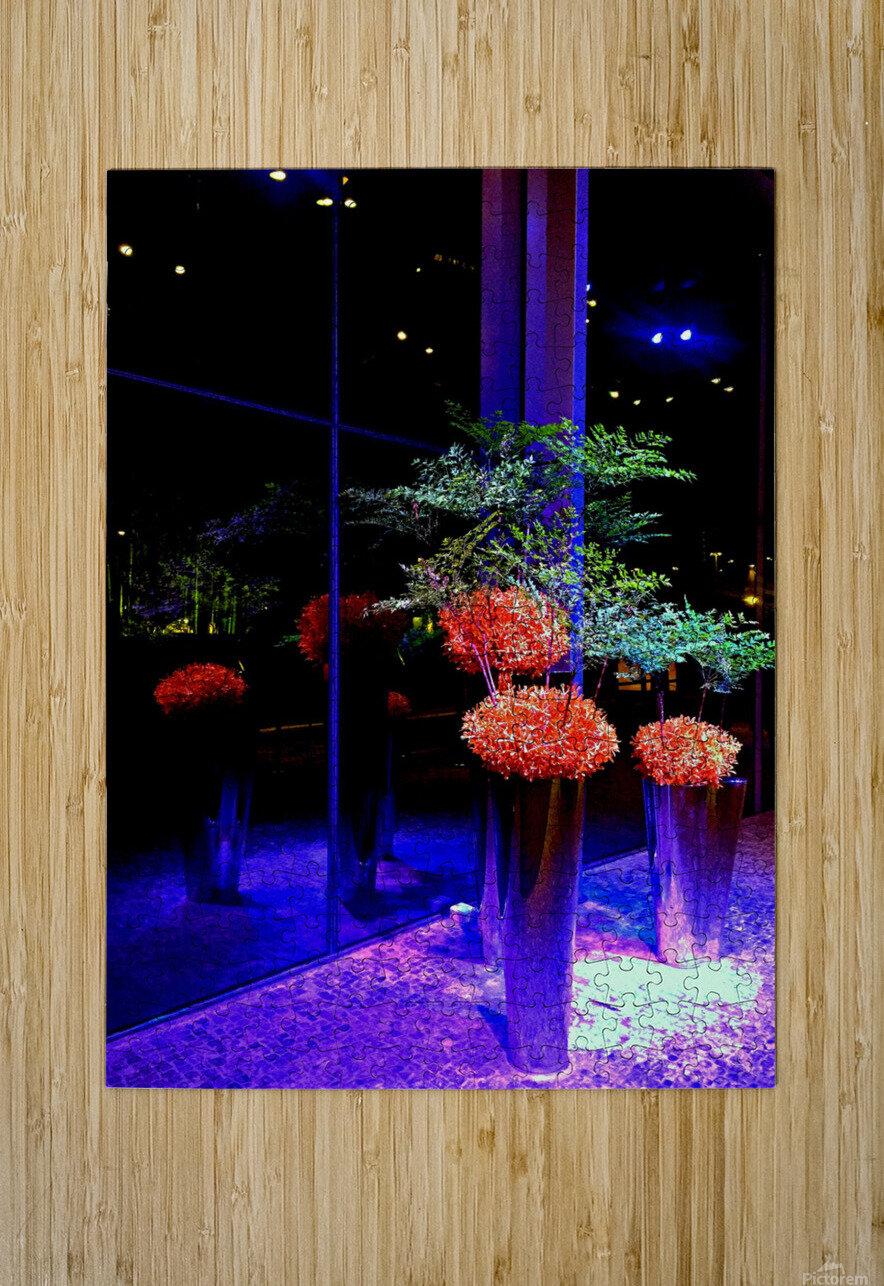 BO31 - Flower Arrangement  HD Metal print with Floating Frame on Back