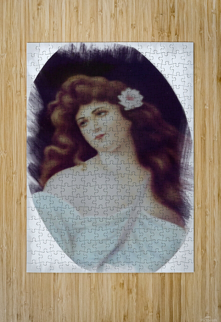 Titian Beauty  HD Metal print with Floating Frame on Back
