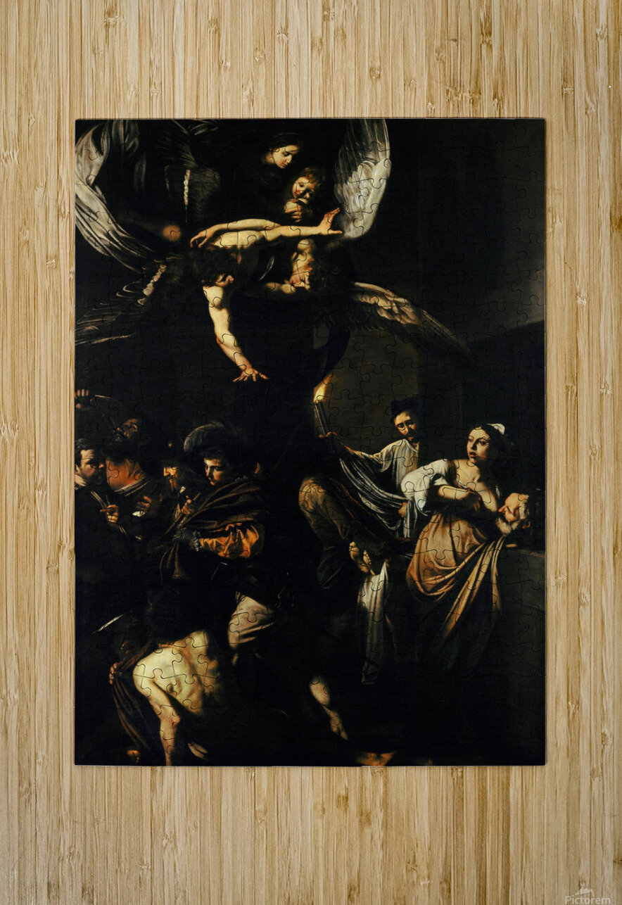The Seven Works of Mercy  HD Metal print with Floating Frame on Back