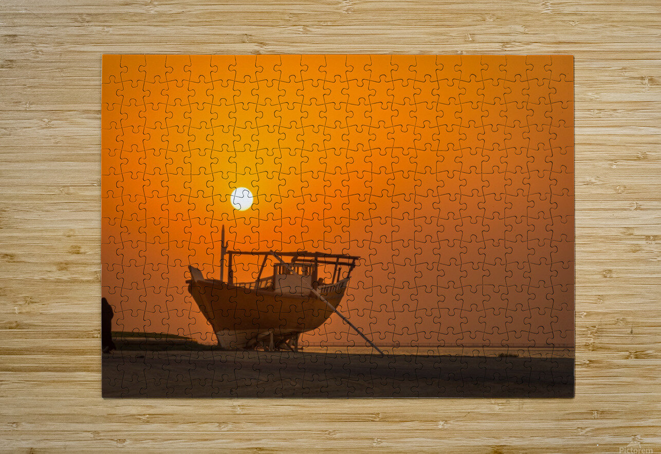 AZY_4350  HD Metal print with Floating Frame on Back