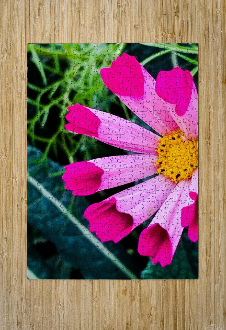 Flowers are gorgeous   Impression métal HD avec cadre flottant sur le dos
