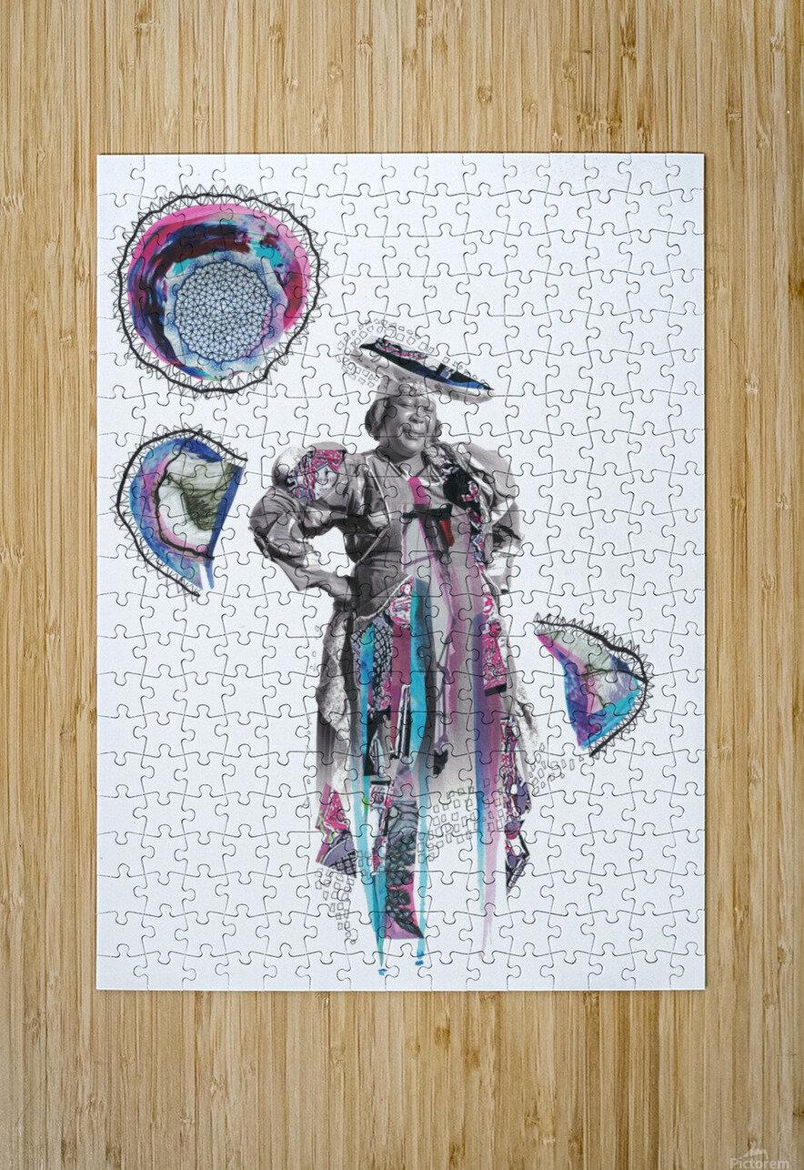 Herero Woman 6  Impression métal HD avec cadre flottant sur le dos