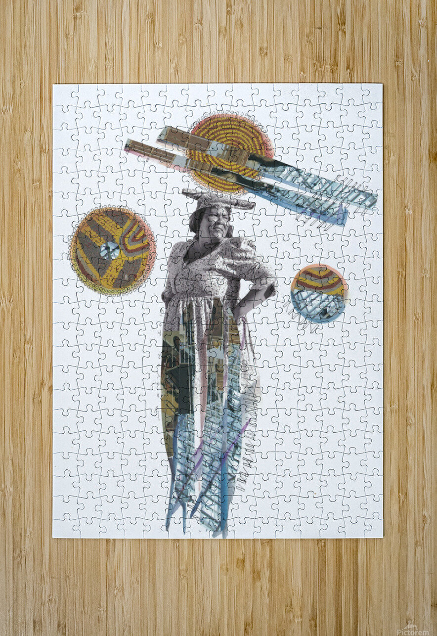 Herero Woman 5  HD Metal print with Floating Frame on Back