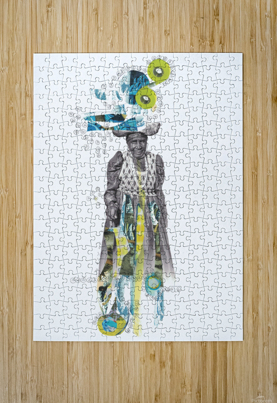 Herero woman 2  HD Metal print with Floating Frame on Back
