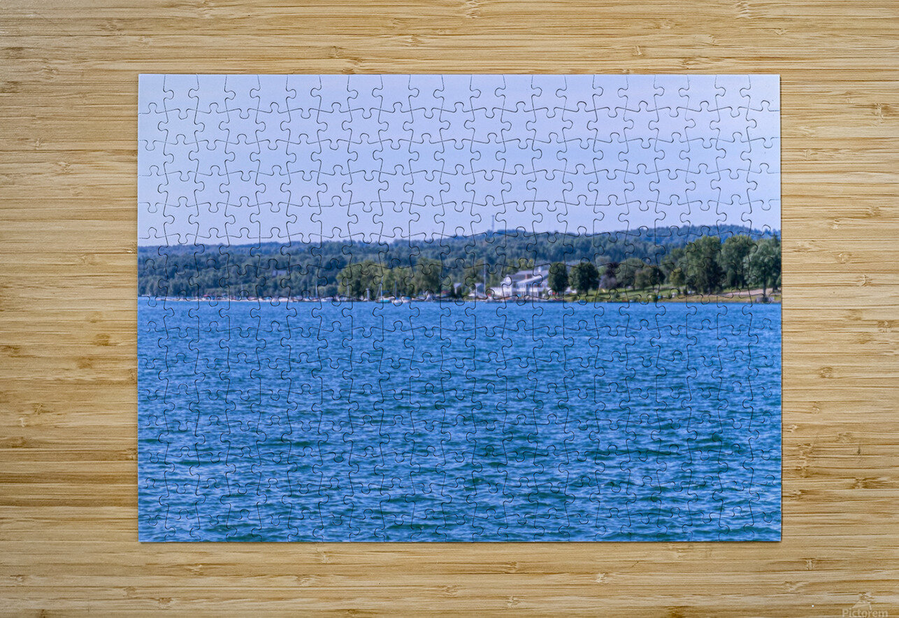Skaneateles Lake 6  HD Metal print with Floating Frame on Back