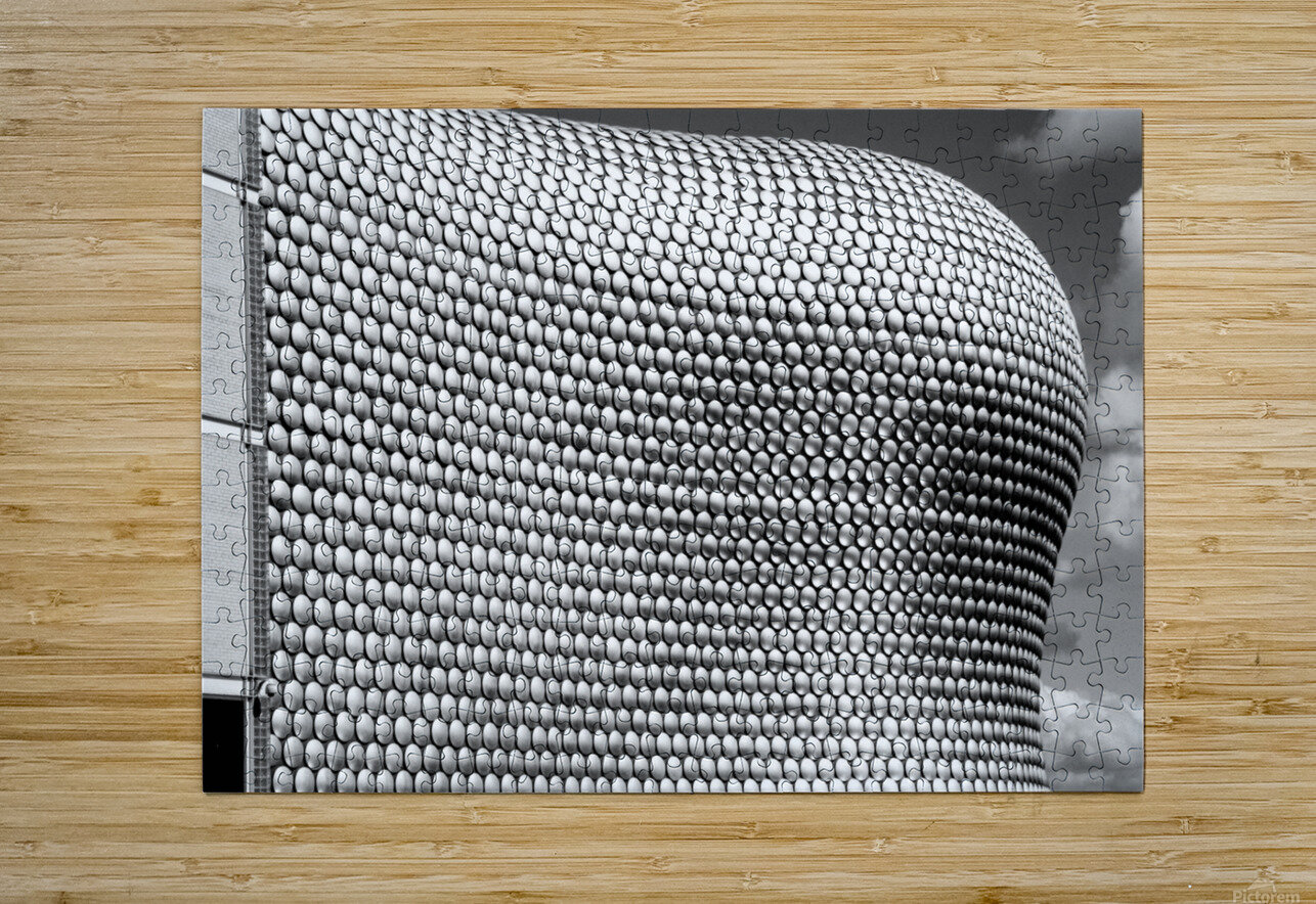 Selfridge Building Birmingham  HD Metal print with Floating Frame on Back