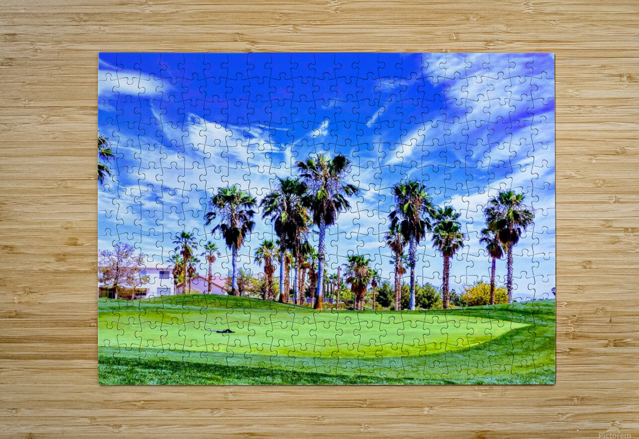 Nevada Sky   HD Metal print with Floating Frame on Back