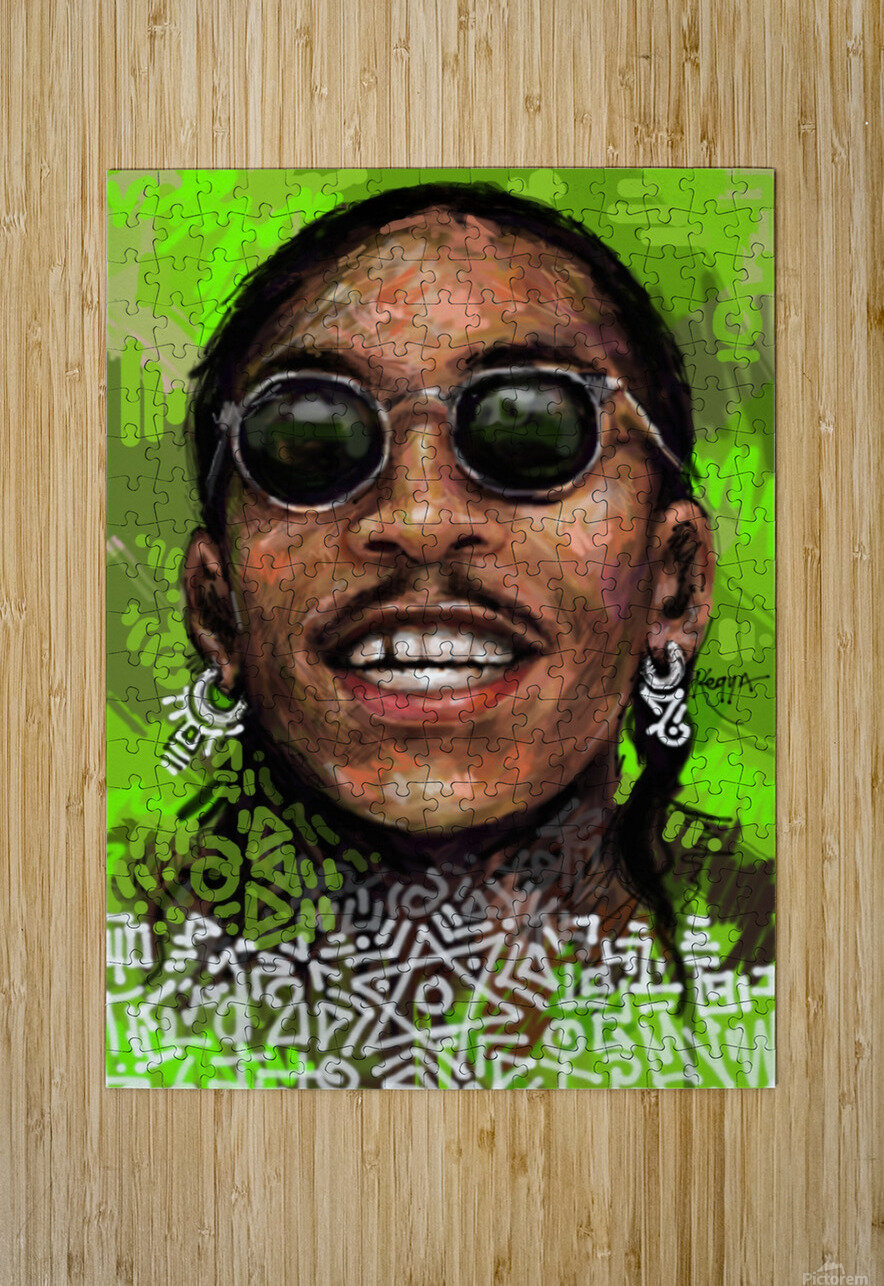 wizzz  HD Metal print with Floating Frame on Back