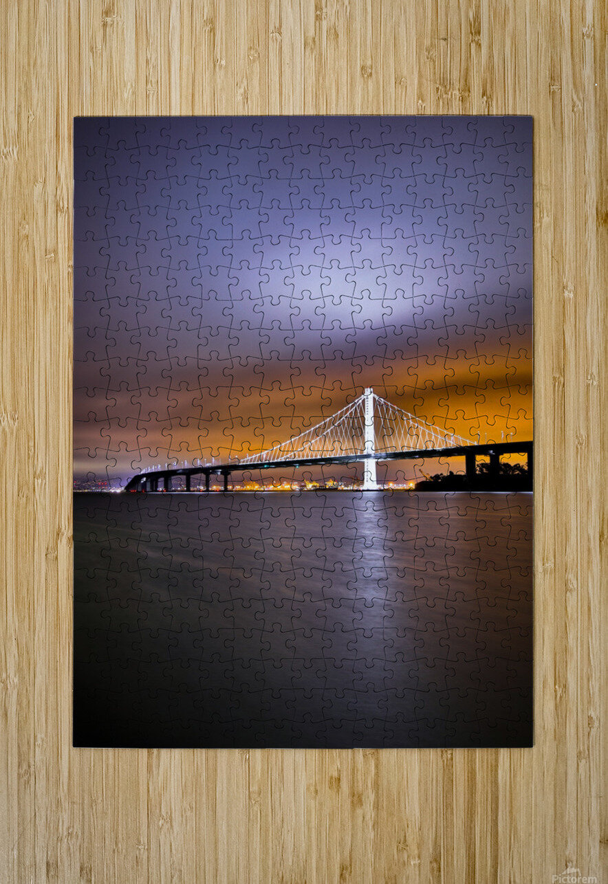 New Hope  HD Metal print with Floating Frame on Back