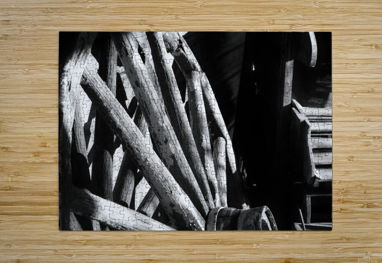 Wagon Wheels.01  HD Metal print with Floating Frame on Back