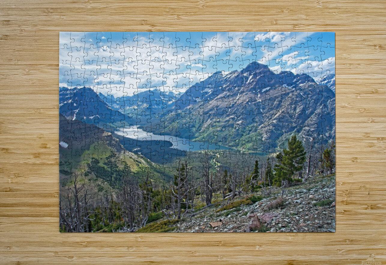 Two Medicine at Glacier National Park  HD Metal print with Floating Frame on Back