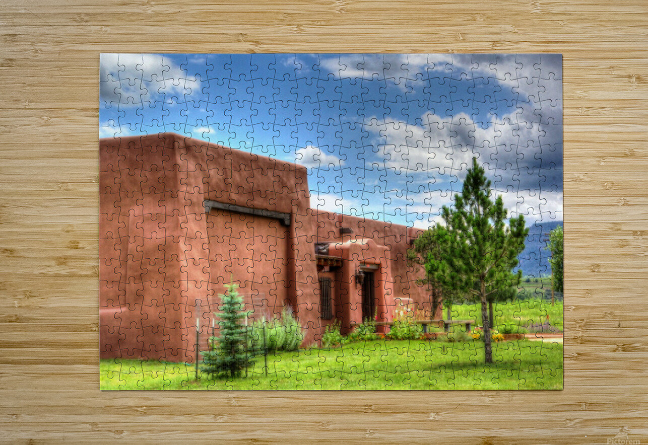 Seton Library  HD Metal print with Floating Frame on Back