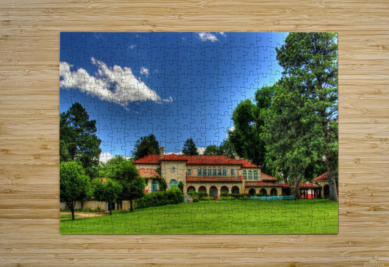 Villa Philmonte  HD Metal print with Floating Frame on Back