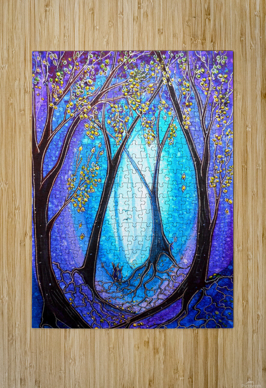 New Beginnings   HD Metal print with Floating Frame on Back