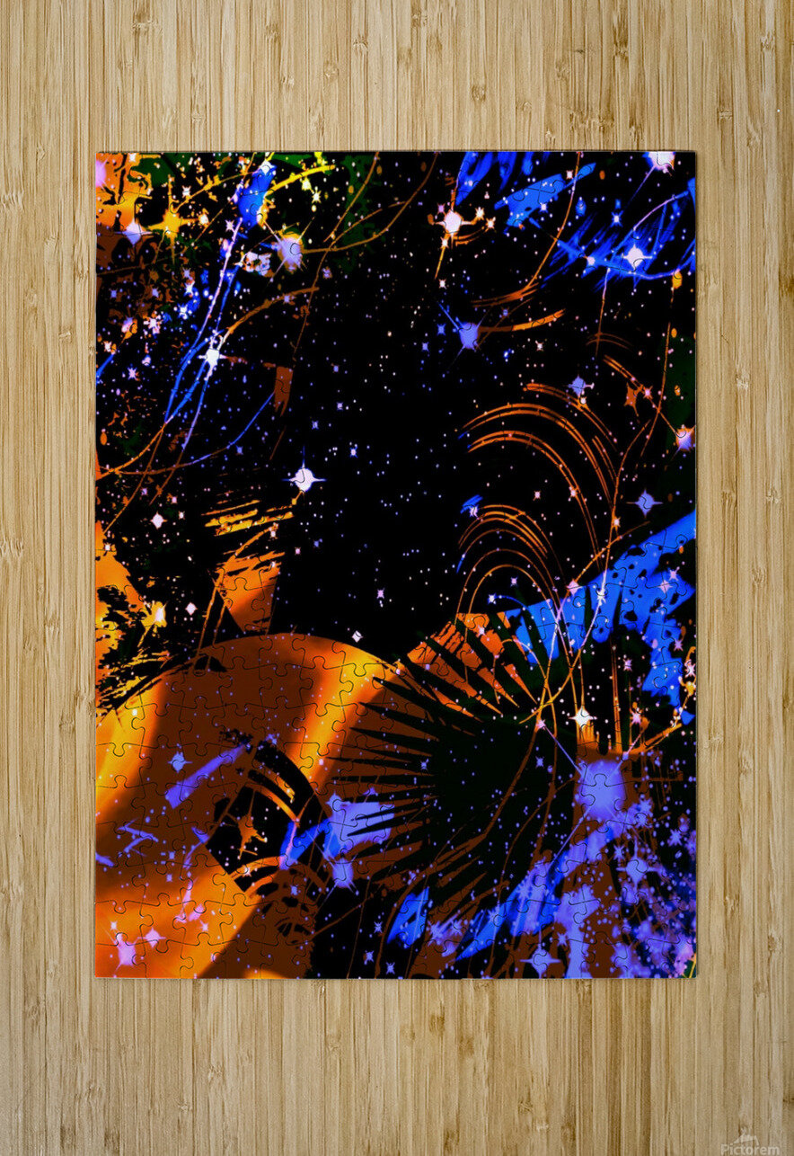 The Imaginary Planets Series 6  HD Metal print with Floating Frame on Back