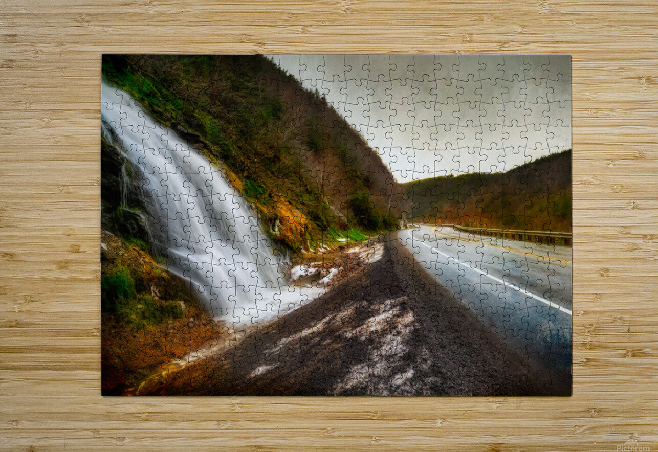 Niagara on the French  HD Metal print with Floating Frame on Back