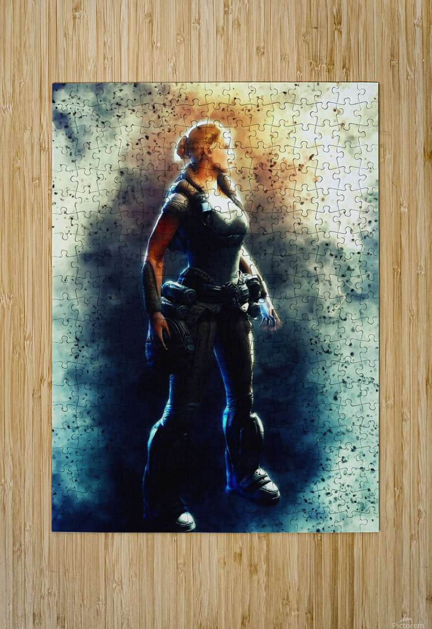 Anya Stroud  HD Metal print with Floating Frame on Back