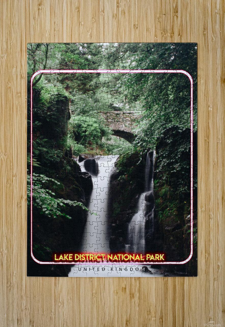 Lake District National Park, United Kingdom  HD Metal print with Floating Frame on Back