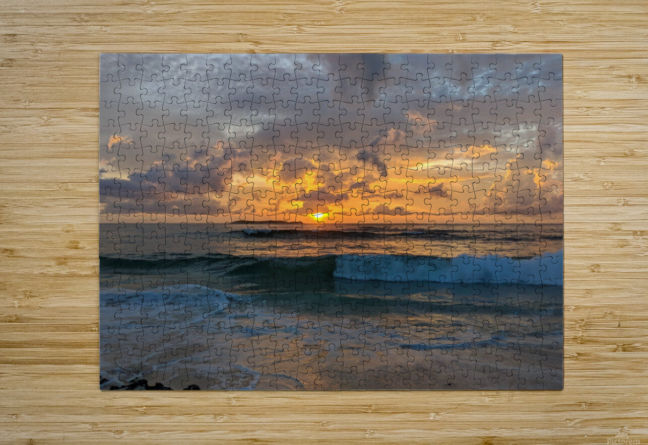 Eleuthera New Day  HD Metal print with Floating Frame on Back