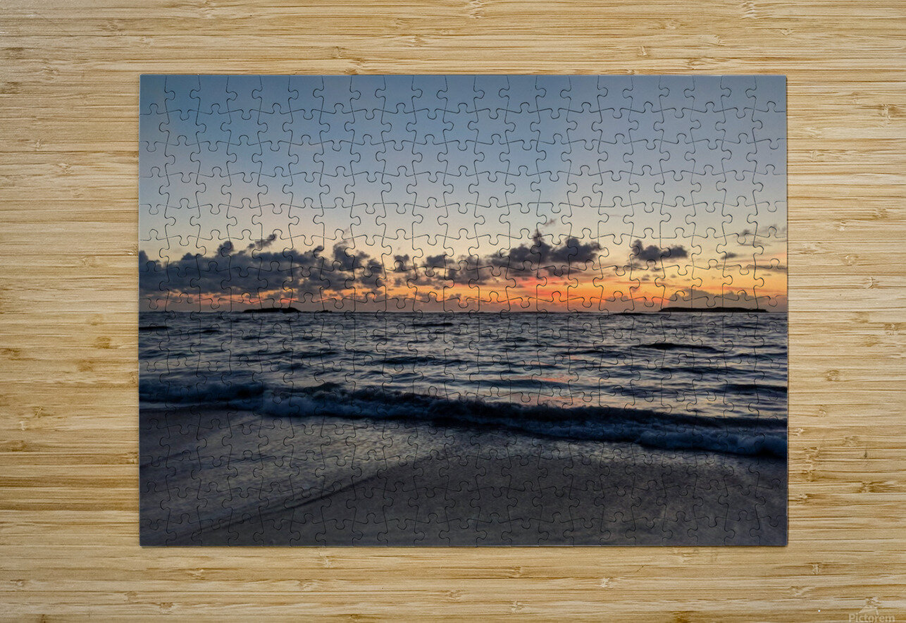 Eleuthera Glow  HD Metal print with Floating Frame on Back