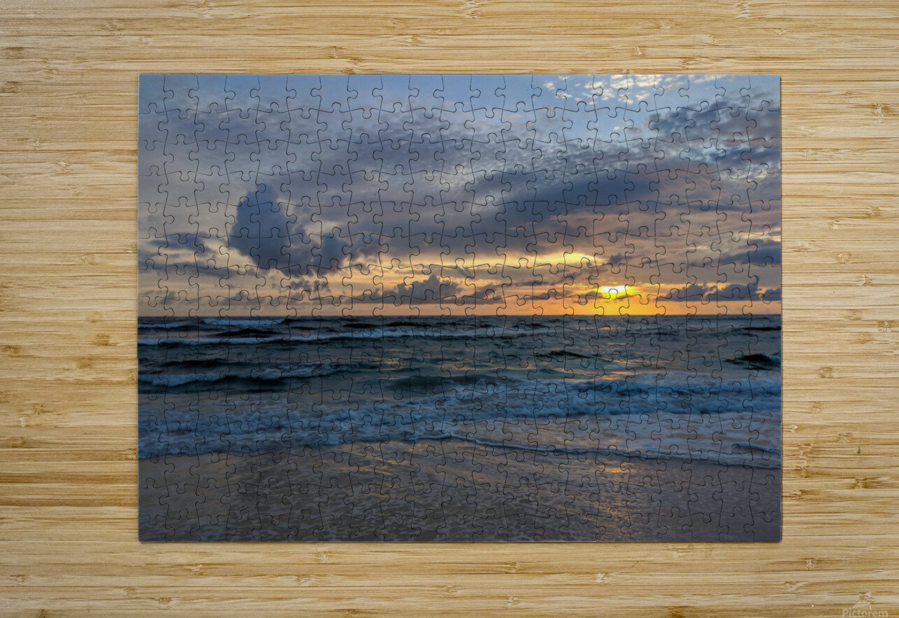 Eleuthera Waves  HD Metal print with Floating Frame on Back