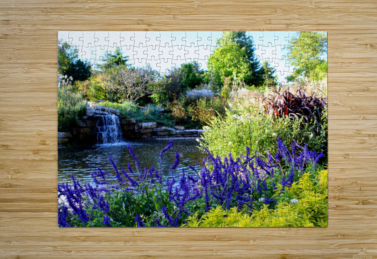 The Power of Water  HD Metal print with Floating Frame on Back