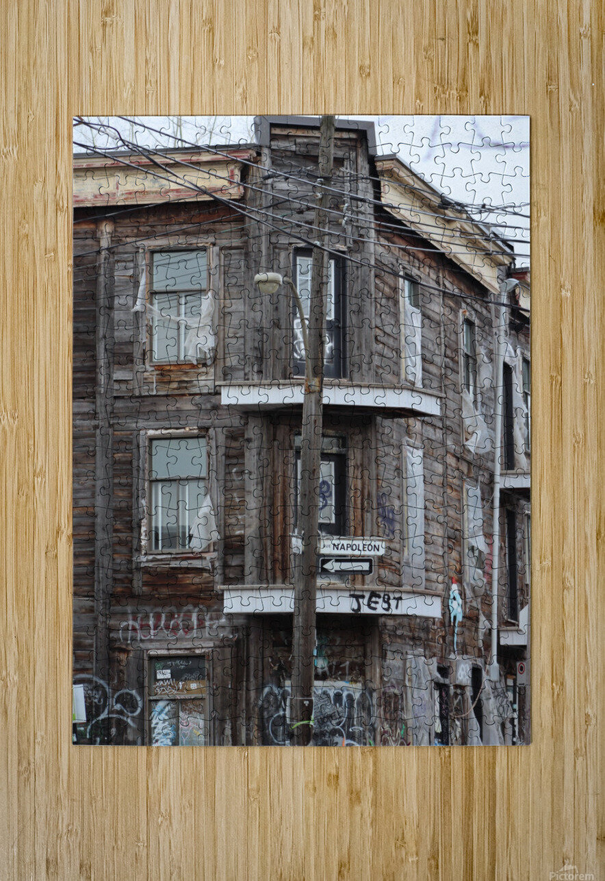 Corner Coloniale and Napoleon - 2018  HD Metal print with Floating Frame on Back