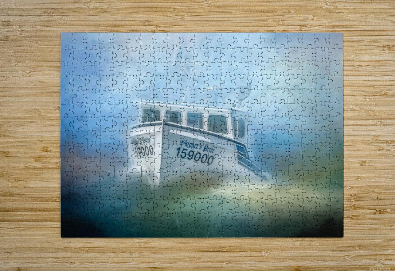 Skippers Pride  HD Metal print with Floating Frame on Back
