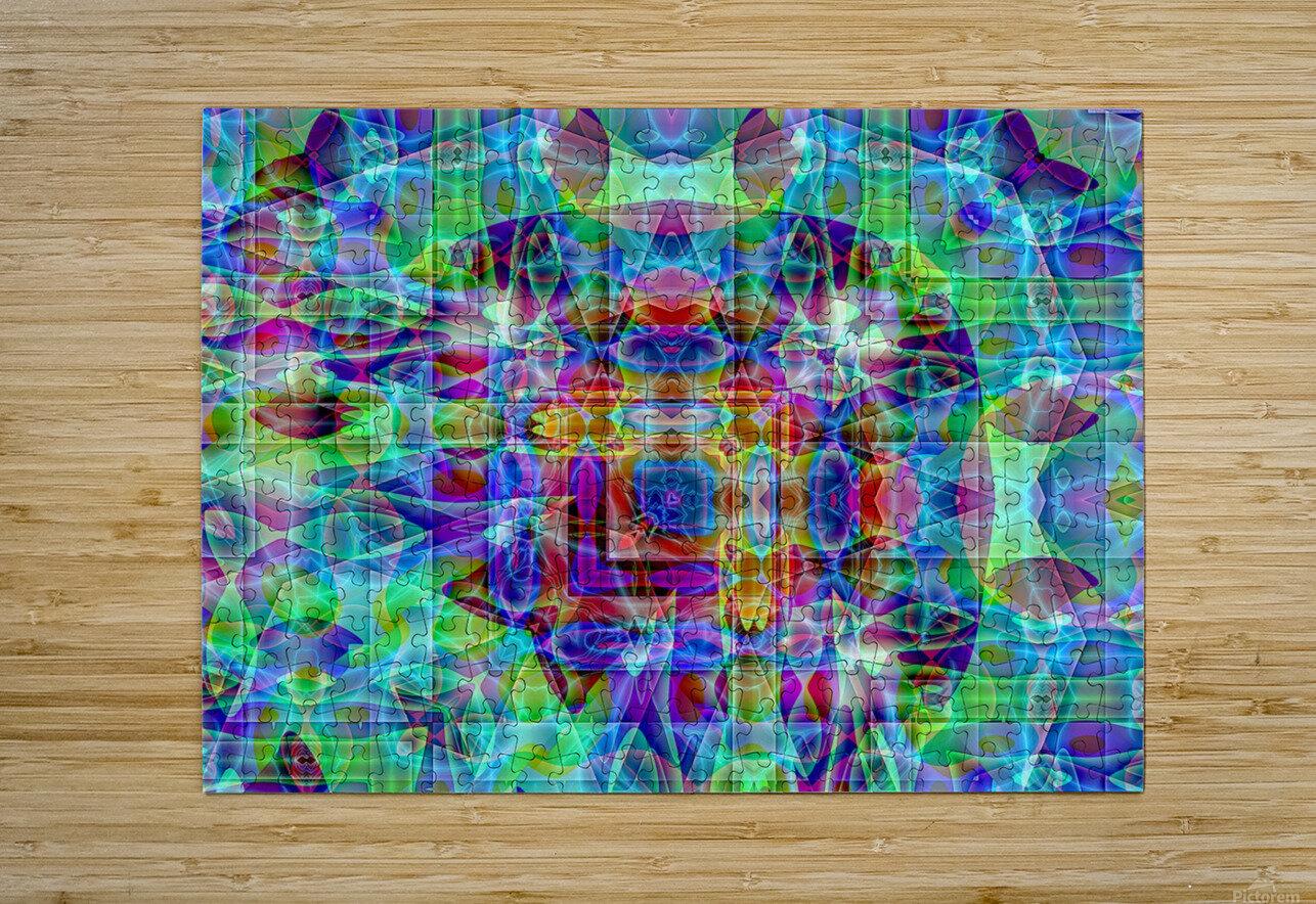 A.P.Polo - Medusa  HD Metal print with Floating Frame on Back