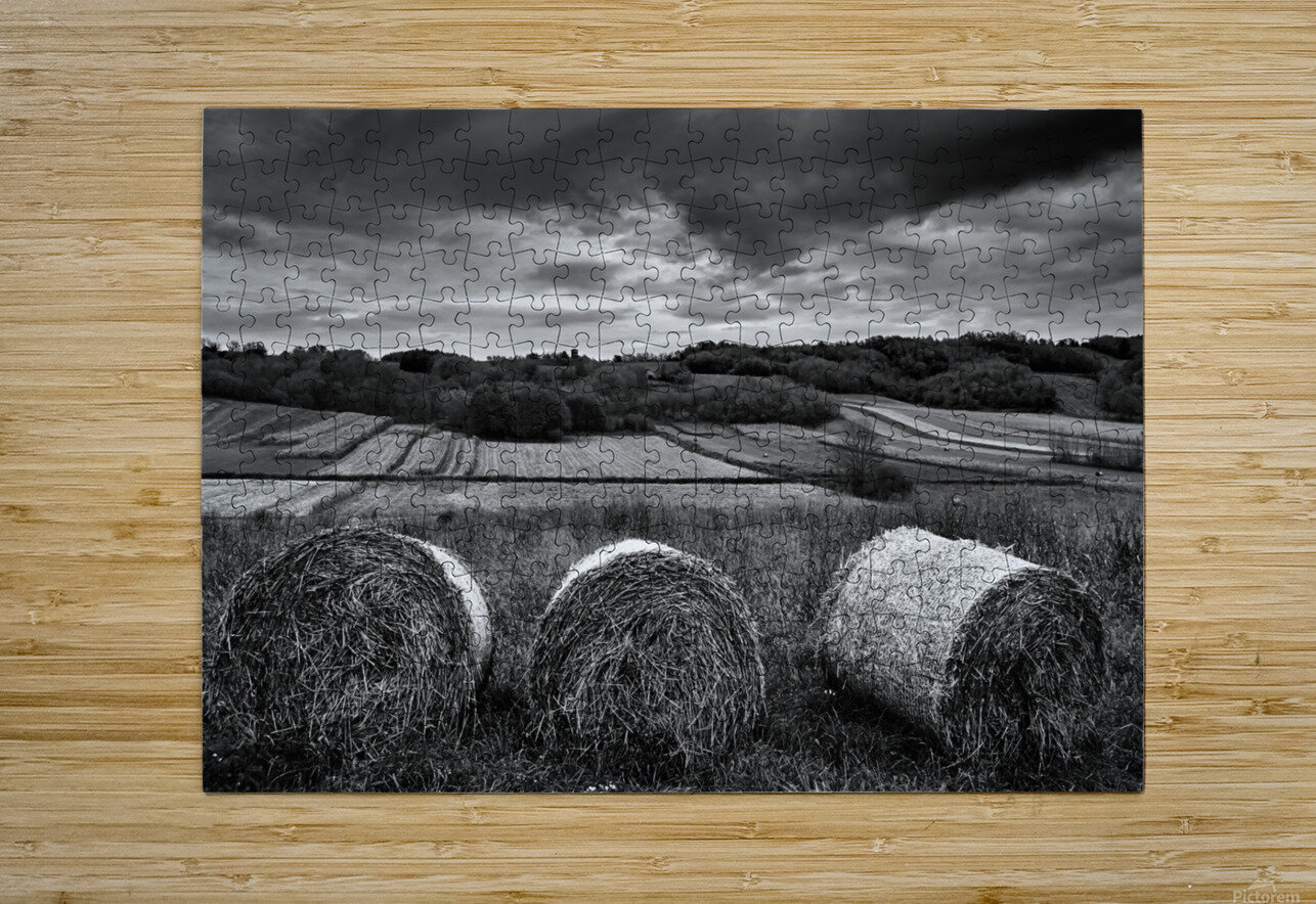 Rolling Down The Hill  HD Metal print with Floating Frame on Back