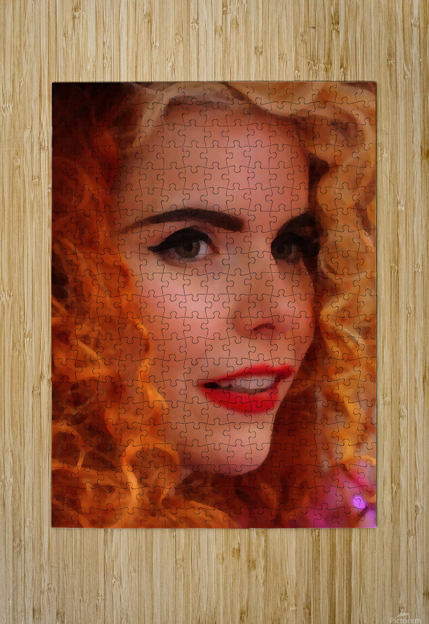 PalomA 1  HD Metal print with Floating Frame on Back