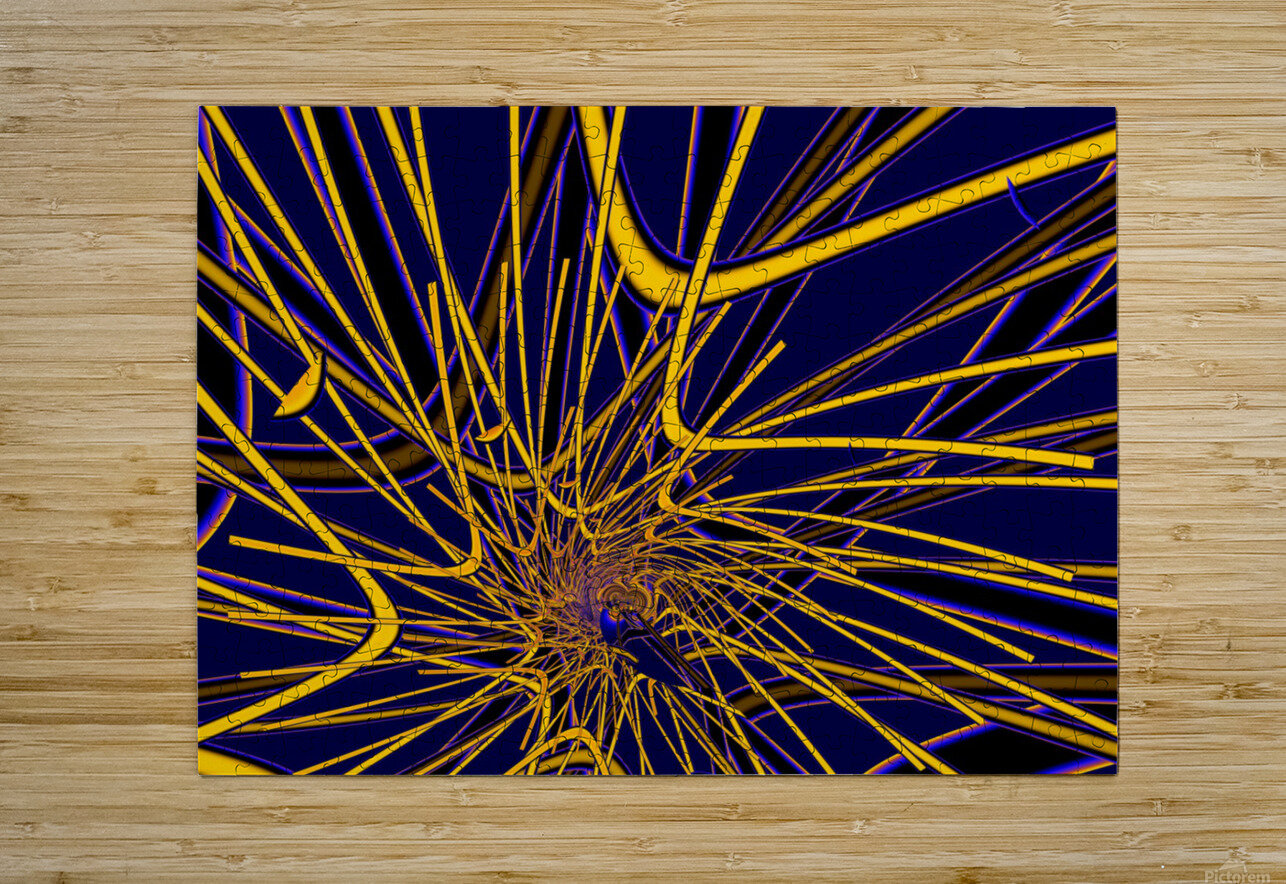 Ex_Libris_series_13  HD Metal print with Floating Frame on Back