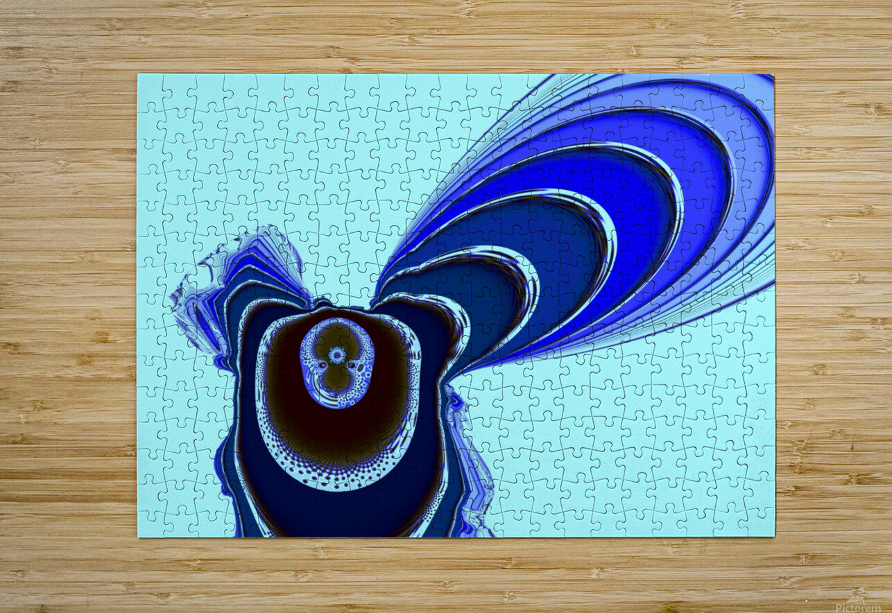 Fly_Fly_Fly  HD Metal print with Floating Frame on Back
