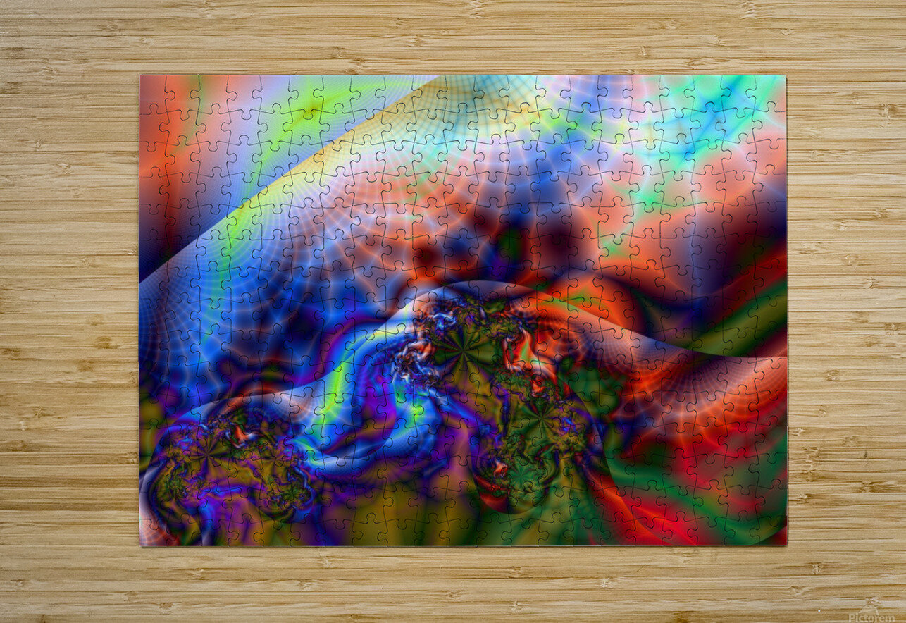 Weather_Report_11  HD Metal print with Floating Frame on Back