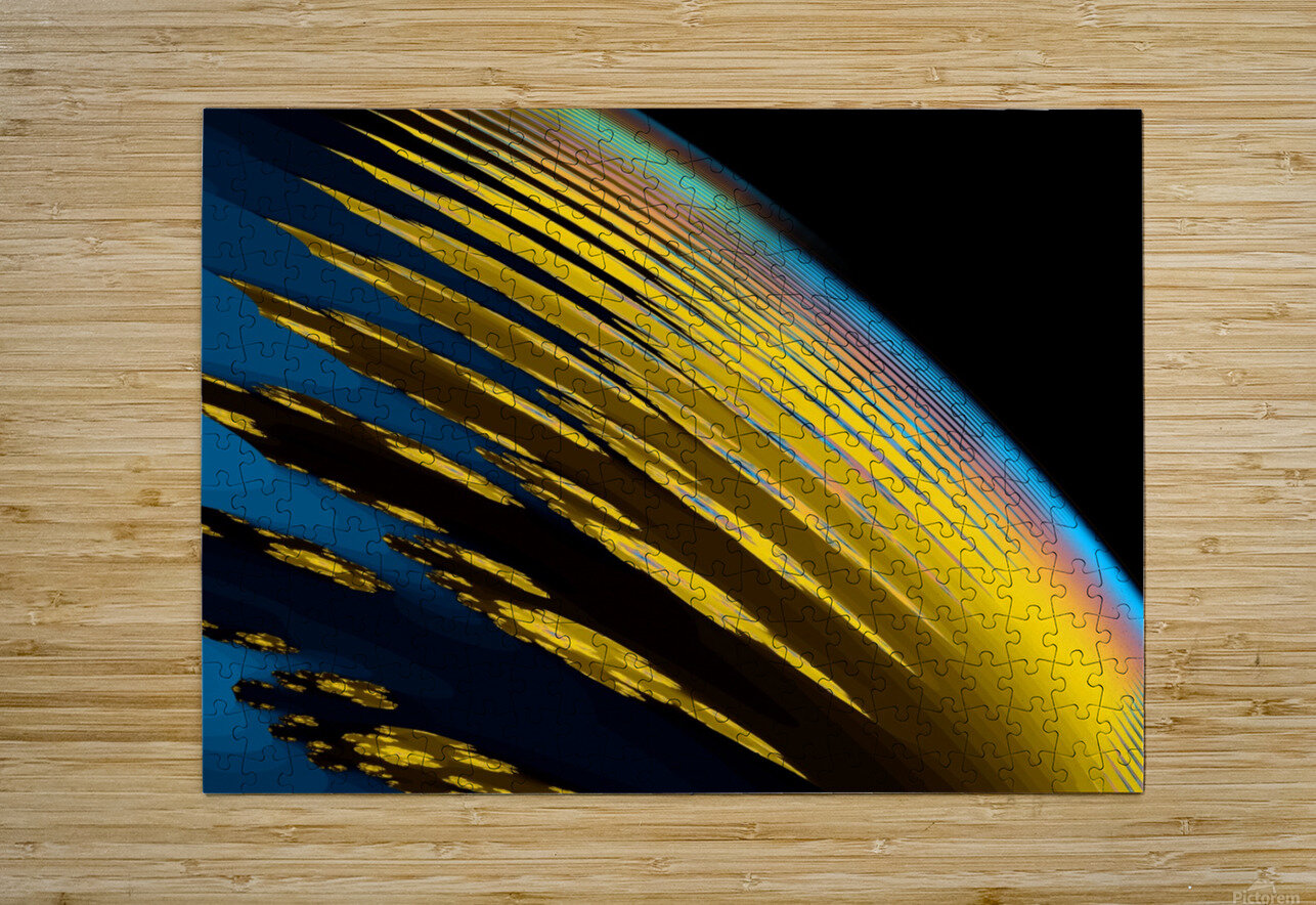 Weather_Report_3  HD Metal print with Floating Frame on Back