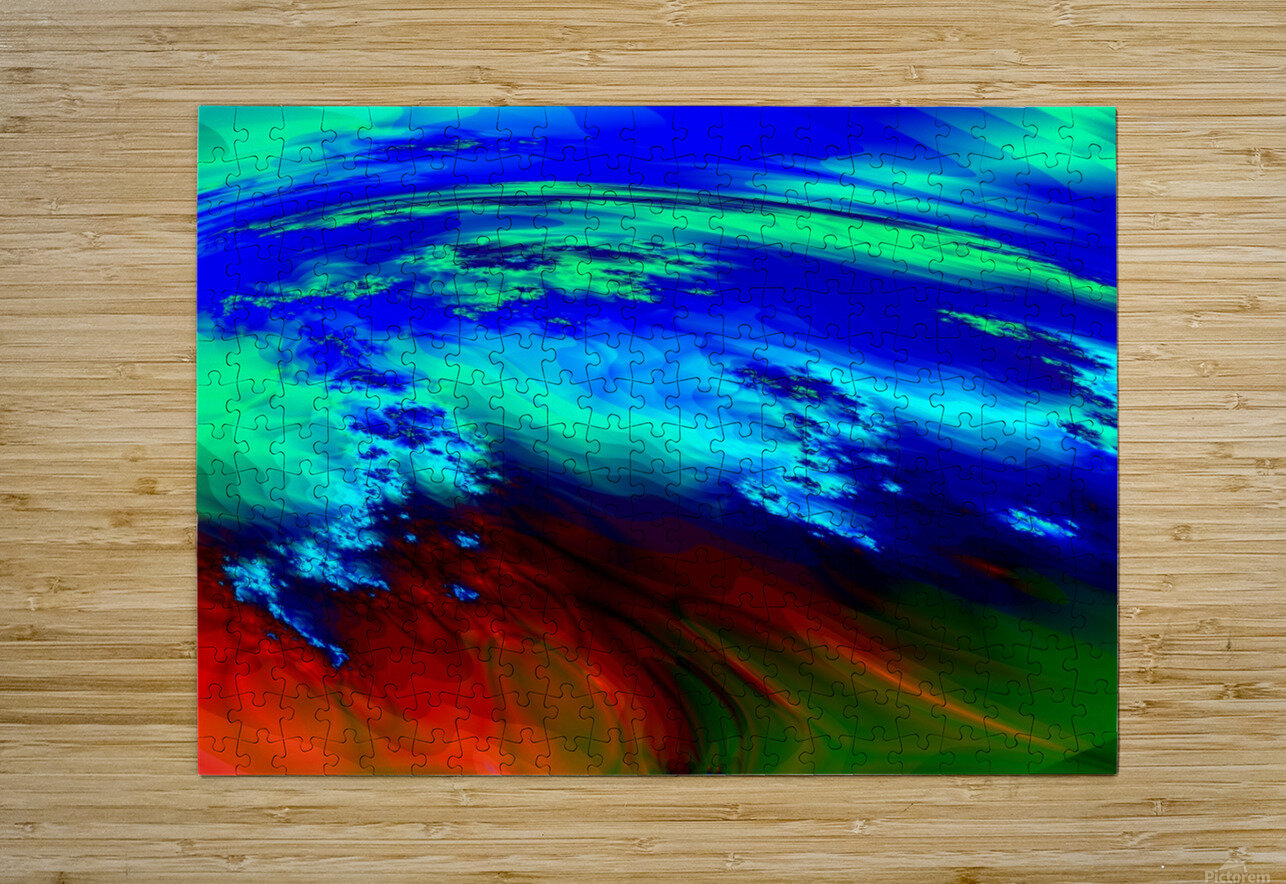 Weather_Report_27  HD Metal print with Floating Frame on Back