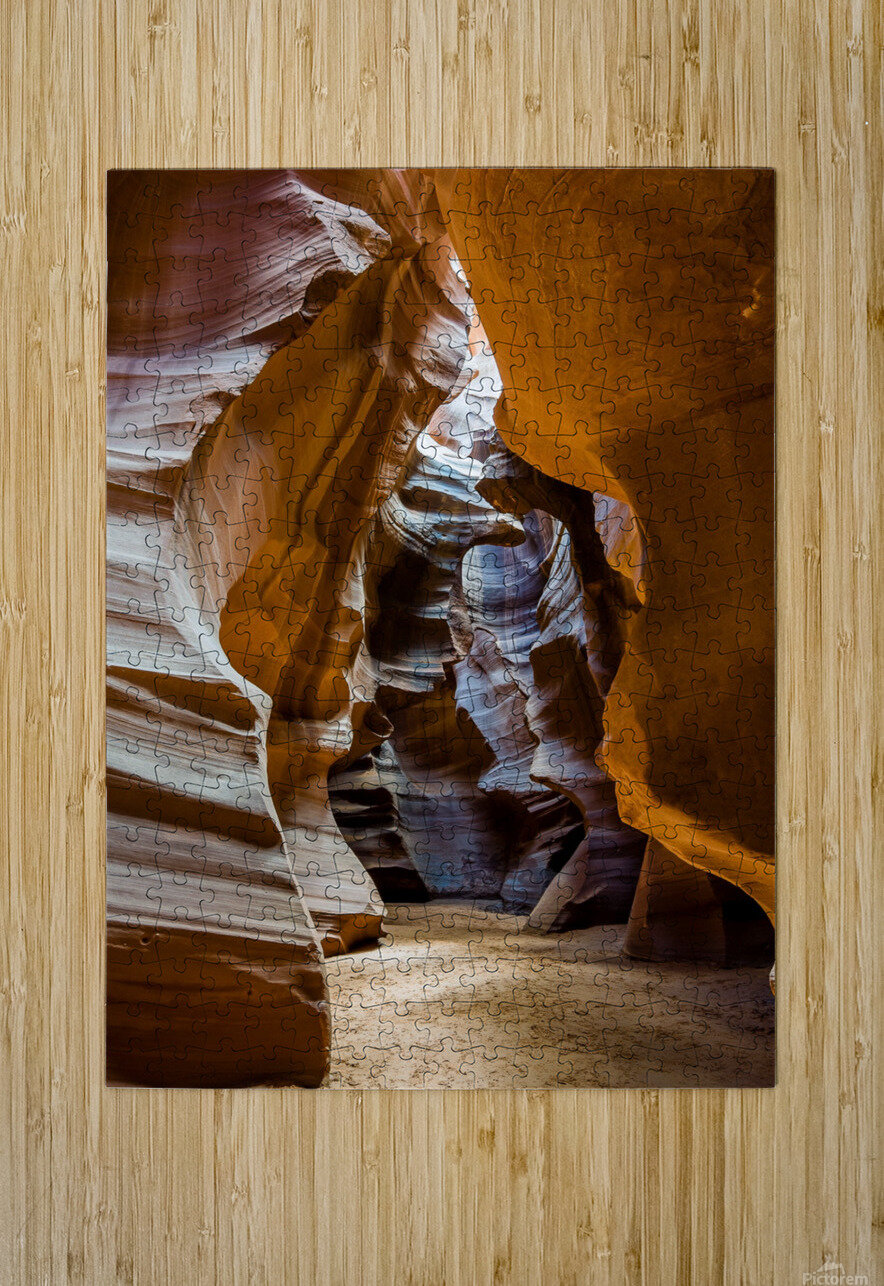 Upper Antelope Canyon 5  HD Metal print with Floating Frame on Back